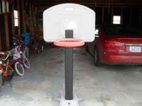 Fisher Price children's basketball hoop. 3 adjustable