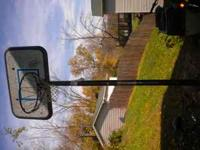 for sale adjustable basketball hoop can be set at 8 ft