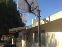 Basketball hoop for sale in wonderful condition.