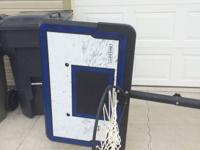 Basketball hoop in great condition.  Moving and must