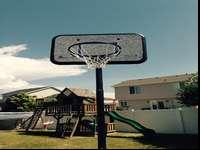 Lifetime basketball stand good condition base is full