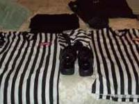 1 pair of Reebok officiating shoes-worn maybe 6