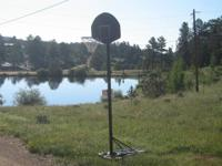 Portable outdoor basketball goal. Asking $85 OBO