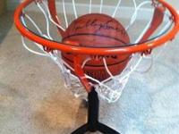 Brand new, perfect condition Basketball Rim Side Table