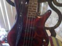 I have a Ibanez Bass for sale its in great shape it has