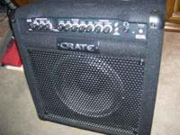 Crate BT25 Bass Amp with built in tuner here are the