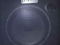 it a fender 100 watt 15in bass amp, I paid 350.00 brand