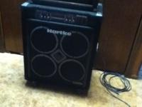 Gently used hartke VX3500 bass combo. only had this