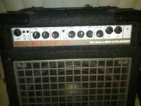 Up for sale is a Gallien- Kreuger 110 bass amp. It is