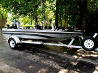 1985 Astroglass Bass Boat in excellent condition, 75hp