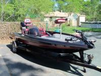 Tournament ready bass boat.Has all the bells