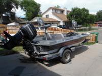 Hydro Sport 18ft. 150hp OB Runs great. Needs some