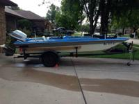 17' Charger Bass Boat. 115 Evinrude. Boat Trailer. Have