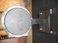 For sale is a used Gibraltar bass drum practice pad.