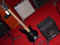 Fender Bass amplifier and bass package Excellent, 300$