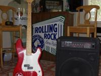 I have a Squier Bass guitar with a Carvin Pro Bass 200