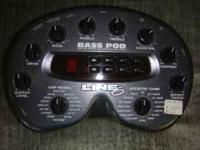 this is a bass amp modeler and direct box plus effects