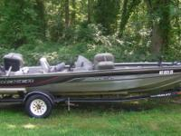 1998 TRACKER MARINE BASS BOAT 185 90 HP MERCURY