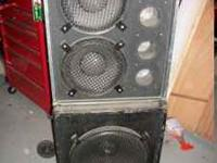"Bass Rig 1x15"" EV 2x10"" Force (?) 375 or best Offer"