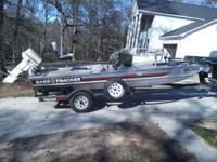 I have a 1988 17ft  Bass Tracker for sale with a 70hp