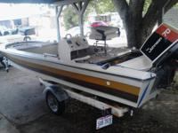 I have a 17 foot Glassline Bassboat for sale.It is