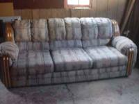 basset sofa 95 inch total lenght.in good condition.its