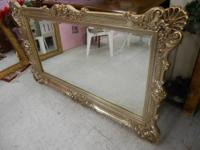 "Bassette Mirror Beautiful Almost 58 1/2"" Long and 34"