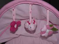 Bassinet Ladybug theme in great condition!!! Cost $120