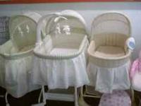 Very nice Bassinet's for sale$ 10.00 to $30.00 at The