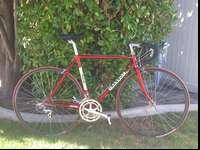Selling a vintage Basso italian steel bike with full