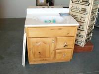 "24"" 30"" and 36"" bath vanities real wood and new. $100"