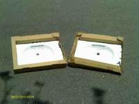 2 Brand New bathroom Sinks still in the box. $15.00