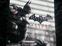 I have for PS3 Batman Arkham Asylum & City, For Arkham