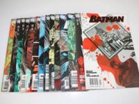 BATMAN D C COMIC BOOKS 2007 year mags # 667 669 670 672