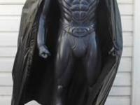 Lifesize 1:1 scale Batman statue from Batman and Robin