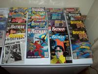 60 comics and 5 Paperback Novels from 1991/1992. Novels