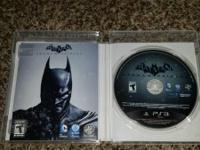 Batman Origins for PS3,  in brand new condition! Bought