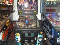 (((( batman pinball machine @@@ works as it should with