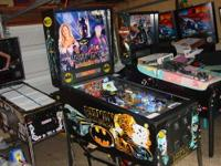 This is a nice condition Batman pinball machine that