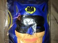 Batman Costume (Vintage 1965) Still in original wrap.