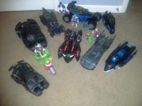 All batmobiles used and played with.     1993 DC Comic