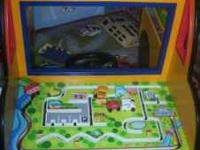 BATTAT Large School Bus Activity Play Center. This will