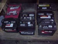 Recon Battery Company has Car and Truck , batteries for