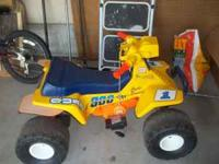 I have a battery operated 4 wheeler for sale. I'm