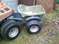 My son has out grown his 4-wheeler so I am selling it.