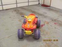 My daughter is selling her Dora Power Wheels battery