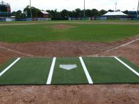 6' x 12' Synthetic Turf Baseball / Softball Hitting