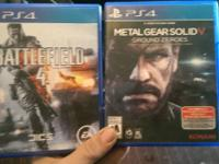 $40 for battlefield $20 for metalgear or $55 for both.