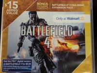 Battlefield 4 - Wal-Mart Exclusive with china rising