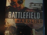 BattleField Hardline Brand new for the Playstation 4